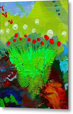 Flower Buds Detail From The Fairy Queen Metal Print by Angela Annas