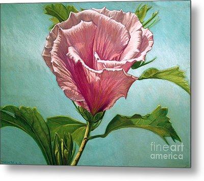 Flower In The Sky Metal Print by Melissa Tobia