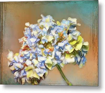 Flower Is Poetry Metal Print by Ches Black
