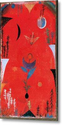 Flower Myth Metal Print by Paul Klee