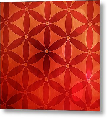 Flower Of Life  Metal Print by Serena King
