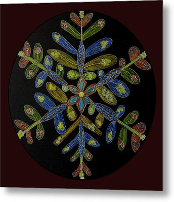 Flower Of Many Colors Metal Print by Patricia Januszkiewicz