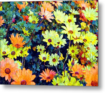 Metal Print featuring the photograph Flower Power by Glenn McCarthy Art and Photography