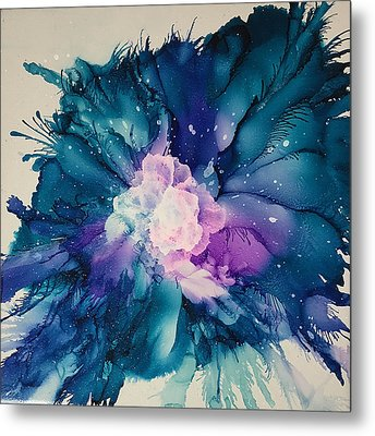 Flower Power Metal Print by Suzanne Canner