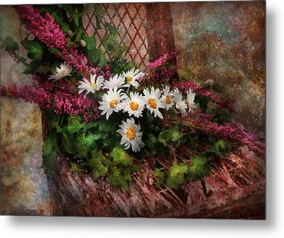 Flower - Still - Seat Reserved Metal Print by Mike Savad