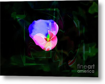 Metal Print featuring the photograph Flower Wower by Al Bourassa