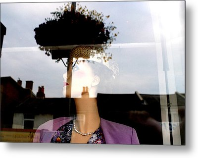 Flowered Liz Metal Print by Jez C Self