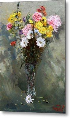 Flowers 2010 Metal Print by Ylli Haruni