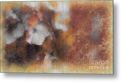 Flowers Abstract 1 Metal Print