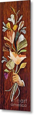 Flowers For Catherine Metal Print by Sarah Loft