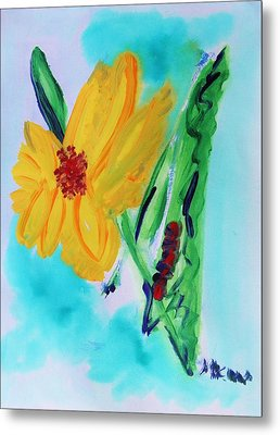 Flowers From Eden 1 Metal Print by Mary Carol Williams