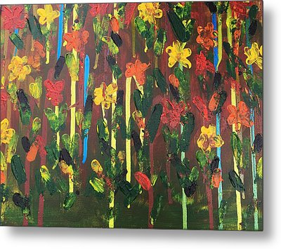 Flowers Galore Metal Print by Sue Dowdall