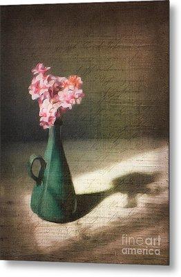 Flowers In Vase Still Life Metal Print