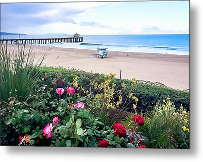 Flowers Of Manhattan Beach Metal Print