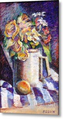Flowers Metal Print by Stan Esson