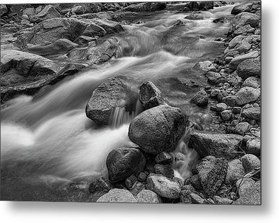 Metal Print featuring the photograph Flowing Rocks by James BO Insogna