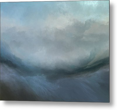 Flowing Tides Metal Print