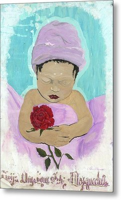 Fly Happy Unique Angel Again Metal Print by Talisa Hartley