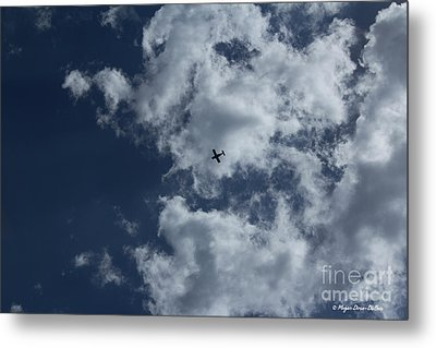 Metal Print featuring the photograph Fly Me To The Moon by Megan Dirsa-DuBois