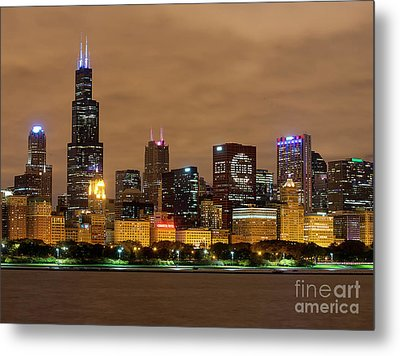 Fly The W - Cubs Metal Print by Jeff Lewis