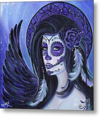 Fly To Me Metal Print by Renee Lavoie