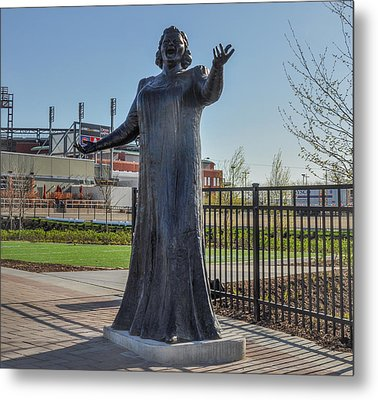 Flyer Good Luck Charm - Kate Smith Metal Print by Bill Cannon