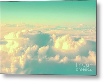 Metal Print featuring the photograph Flying by Delphimages Photo Creations