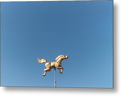 Flying Horse Chattanooga Metal Print by Jake Hartz