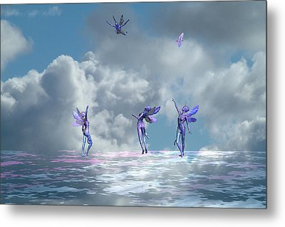 Flying Lessons Metal Print by Claude McCoy