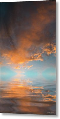 Focal Point Metal Print by Jerry McElroy
