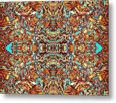 Focused Presence Metal Print