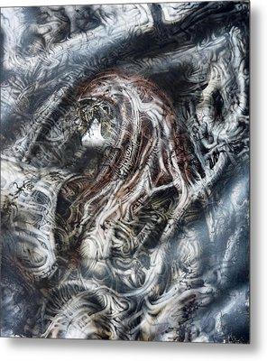 Fog Metal Print by David H Frantz