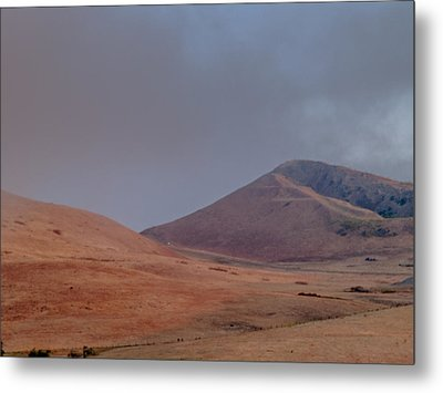 Fog In The Solano Hills Metal Print by Bill Gallagher