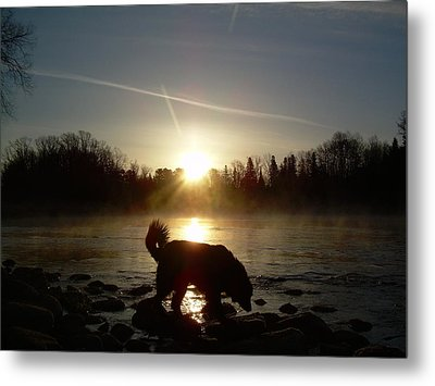 Metal Print featuring the photograph Fog Over Mississippi River by Kent Lorentzen