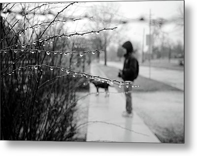 Metal Print featuring the photograph Fog Rain by Jeanette O'Toole