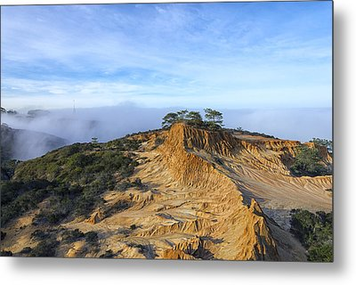 Fog Rolling In Metal Print by Joseph S Giacalone