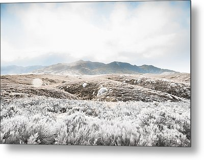 Fog Snow And Ice Landscape Metal Print by Jorgo Photography - Wall Art Gallery