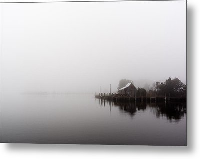 Foggy Morning Metal Print by Gregg Southard