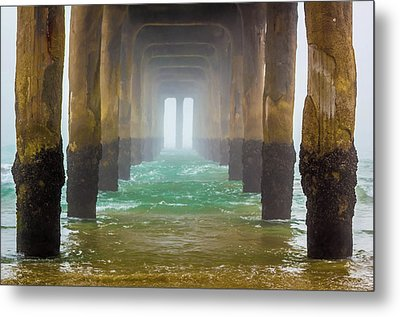 Metal Print featuring the photograph Coastal Fog by April Reppucci
