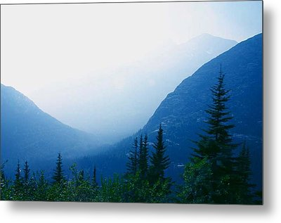 Metal Print featuring the photograph Foggy Valley by Jack G  Brauer