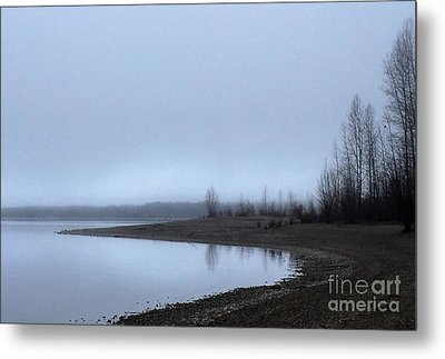 Metal Print featuring the photograph Foggy Water by Victor K