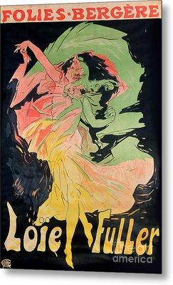 Folies Bergeres Metal Print by Jules Cheret