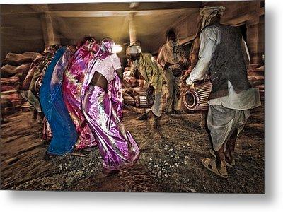 Folk Dance Metal Print by Hitendra SINKAR
