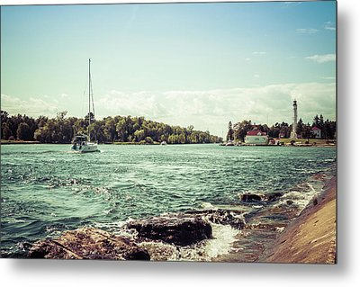 Metal Print featuring the photograph Follow Me Now by Joel Witmeyer