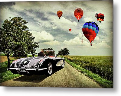 Metal Print featuring the photograph Follow That Dream by Steven Agius