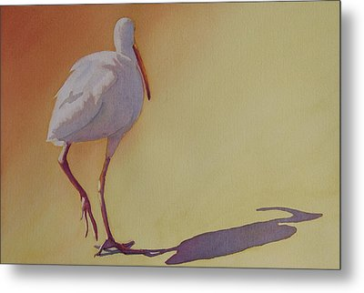 Follow The Leader Metal Print by Judy Mercer