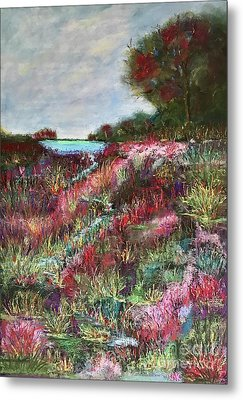 Follow The Whispers Metal Print by Vickie Scarlett-Fisher