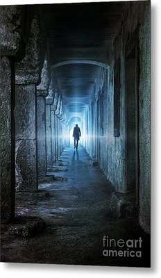 Following The Light Metal Print by Carlos Caetano