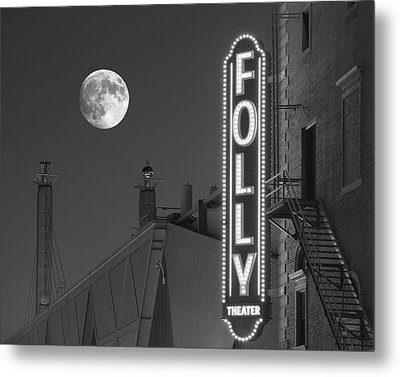 Folly Theatre Kansas City Metal Print