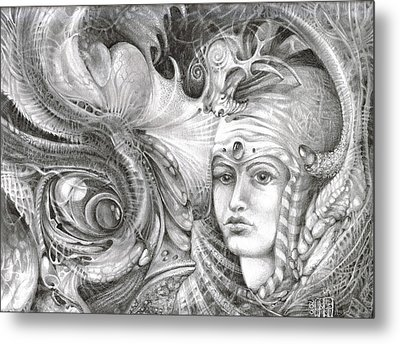 Fomorii King And Queen Metal Print by Otto Rapp